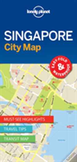 Wook.pt - Lonely Planet Singapore City Map
