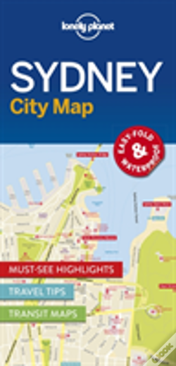 Wook.pt - Lonely Planet Sydney City Map