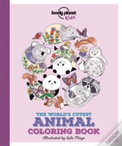 Wook.pt - Lonely Planet The World'S Cutest Animal Colouring Book