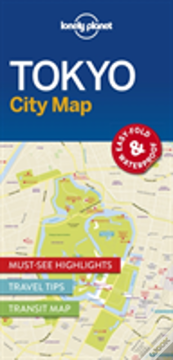 Wook.pt - Lonely Planet Tokyo City Map