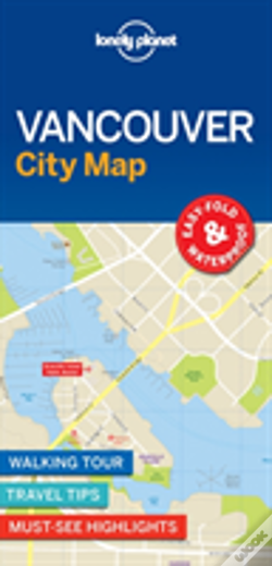 Wook.pt - Lonely Planet Vancouver City Map