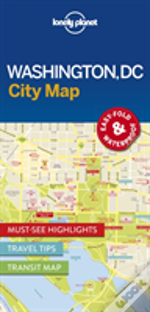 Lonely Planet Washington Dc City Map