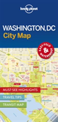 Wook.pt - Lonely Planet Washington Dc City Map