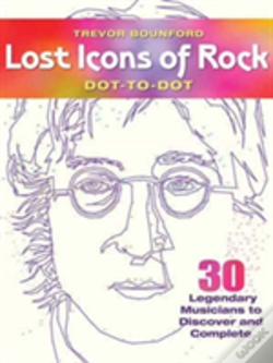 Wook.pt - Lost Icons Of Rock Dot-To-Dot