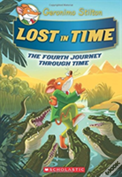 Wook.pt - Lost In Time Geronimo Stilton Journey Th