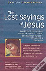LOST SAYINGS OF JESUS