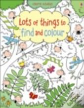 Lots Of Things To Find & Colour