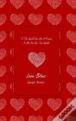 Love Bites Lifestyle Write-In Notebook,