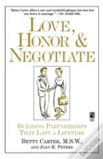 Love Honor And Negotiate: Building Partn