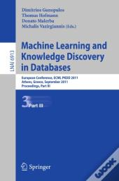 Machine Learning And Knowledge Discovery In Databases, Part Iii