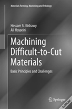 Wook.pt - Machining Difficult-To-Cut Materials