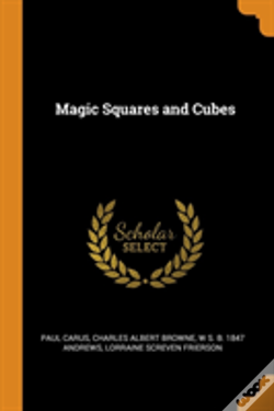 Wook.pt - Magic Squares And Cubes
