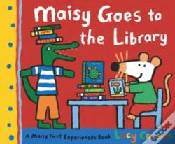 Wook.pt - Maisy Goes To The Library