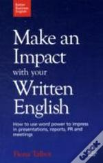 Make An Impact With Your Written English