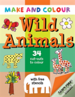Make And Colour Wild Animals