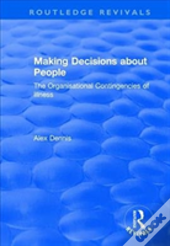 Making Decisions About People