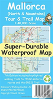 Mallorca North & Mountains Tour & Trail Super-Durable Map (7th Ed)
