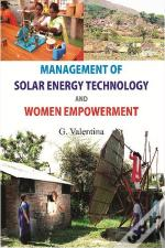 Management Of Solar Energy Technologies And Women Empowerment