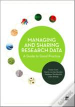 Managing And Sharing Research Data
