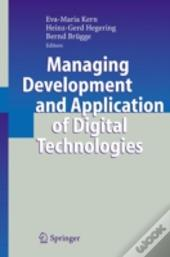 Managing Development And Application Of Digital Technologies