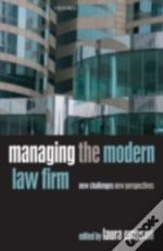 Managing The Modern Law Firm