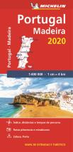 Mapa National Portugal e Madeira 2020