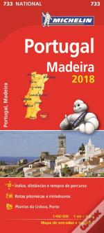 Mapa National Portugal-Madeira 2018