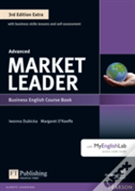 Market Leader Extra Advanced Coursebook And Myenglishlab Pin Pack