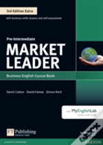 Market Leader Extra Pre-Intermediate Coursebook And Myenglishlab Pin Pack