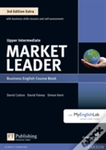 Market Leader Plus Upper Intermediate Coursebook And Myenglishlab Pin Pack