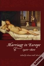 Marriage In Europe 1400 1800