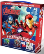 Marvel Avengers 2in1 Puzzle Pack