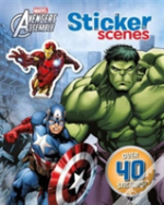 Marvel Avengers Assemble Sticker Scenes