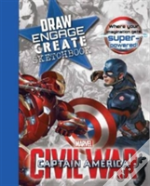 Marvel Captain America Civil War Draw Engage Create Sketchbook
