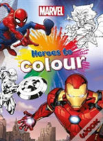 Marvel Heroes To Colour