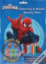 Marvel Spider-Man Colouring And Sticker Activity Pack