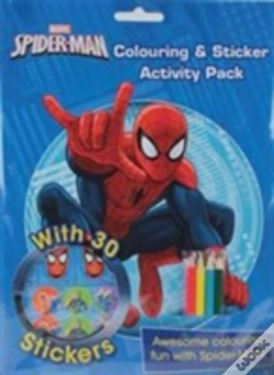 Wook.pt - Marvel Spider-Man Colouring And Sticker Activity Pack