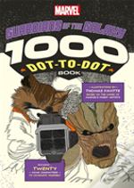 Marvel'S Guardians Of The Galaxy: The 1000 Dot-To-Dot Book