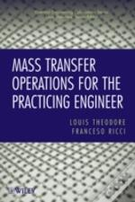Mass Transfer Operations For The Practic