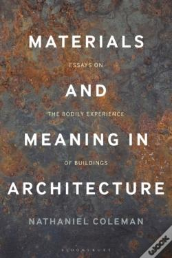 Wook.pt - Materials And Meaning In Architecture