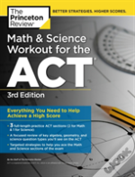 Math & Science Workout For The Act 3rd E