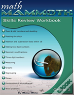 Math Mammoth Grade 2 Skills Review Workbook
