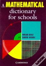 Mathematical Dictionary For Schools
