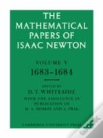 Mathematical Papers Of Isaac Newton1683 - 1684