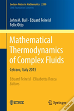 Wook.pt - Mathematical Thermodynamcis Of Complex Fluids