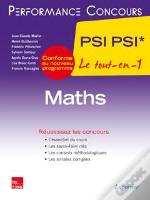 Mathematiques 2e Annee Psi Psi* (Collection Performance Concours)