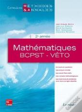 Mathematiques Bcpstveto 2e Annee Collection Methodes Annales