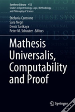 Wook.pt - Mathesis Universalis, Computability And Proof