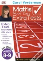 Maths Made Easy Extra Tests Age 8