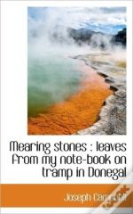 Mearing Stones : Leaves From My Note-Boo